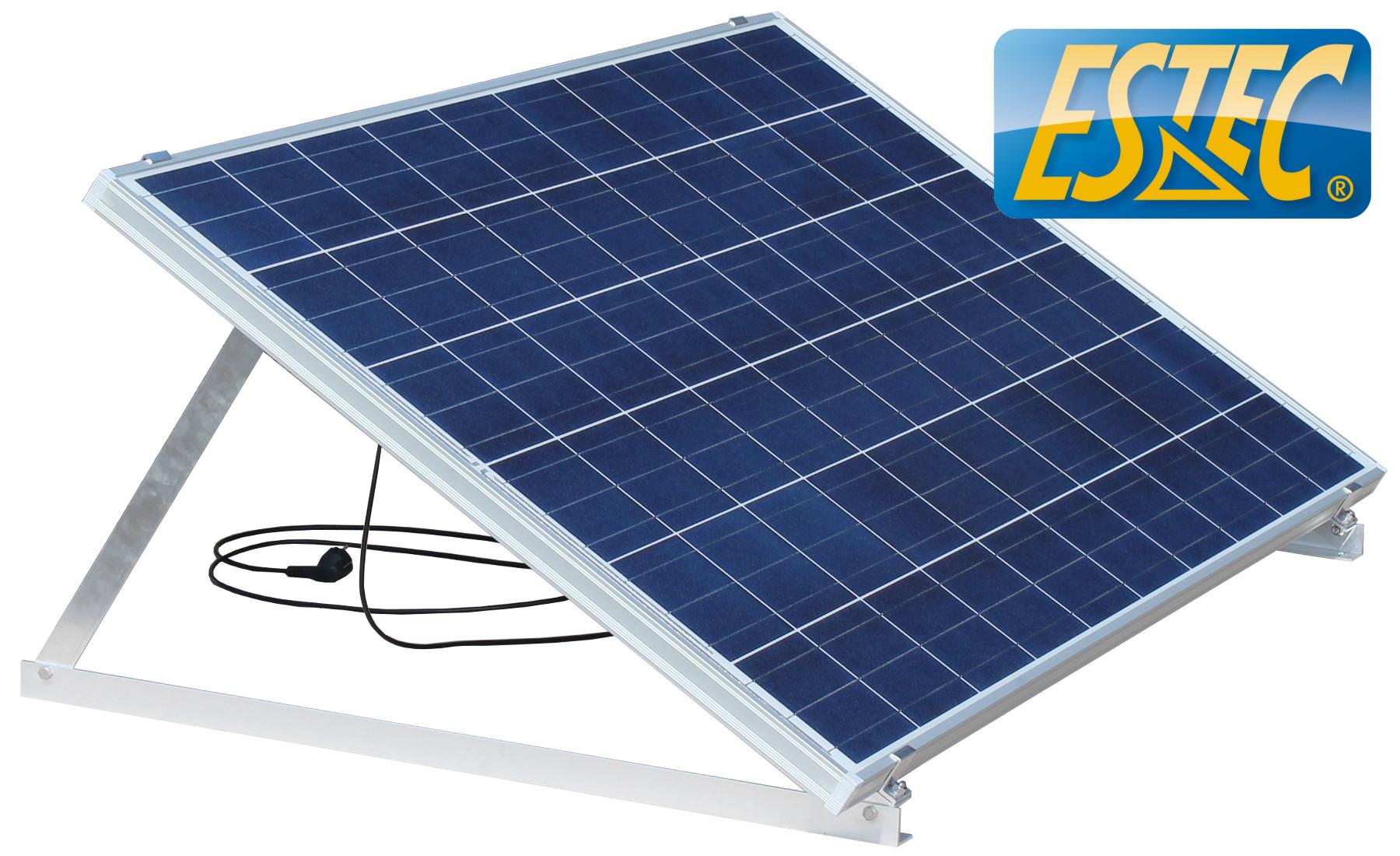 unsere mini photovoltaik anlage erzeugt jetzt ihren strom estec solar. Black Bedroom Furniture Sets. Home Design Ideas