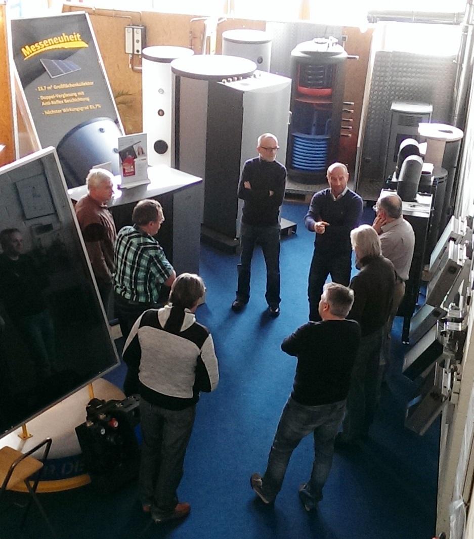 NIBE Produktschulung Und Vorstellung Der Luft/Wasser Wärmepumpe F2120
